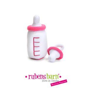 Rubens Barn Biberon et sucette pour poupée baby