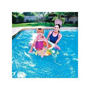 Sizzlin Cool Petit bâteau gonflable bébé L 112 x l 71 x h 21 cm