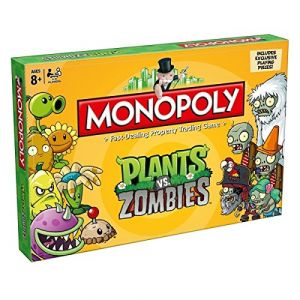 Winning Moves Monopoly Plants Vs Zombies (version anglaise)