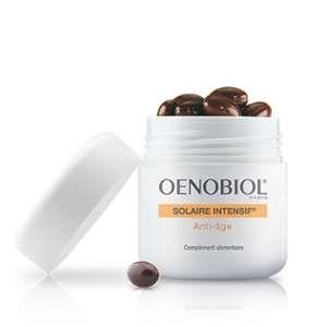 Oenobiol Solaire intensif - Préparateur capital jeunesse 30 capsules