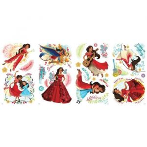 ROOMMATES 24 stickers repositionnables Elena d'Avalor
