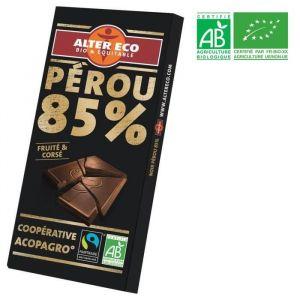 Alter Eco Chocolat noir absolu, coopérative El Ceibo