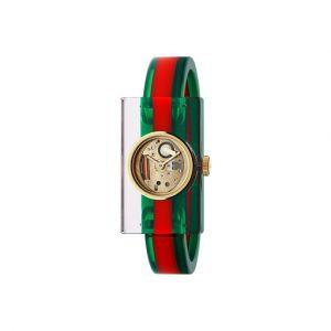 Gucci Montre Femme Vintage Web Watch Vert