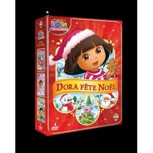 Coffret Dora fête Noël: Le Noël de Dora + Le bal des papillons + Dora autour du monde