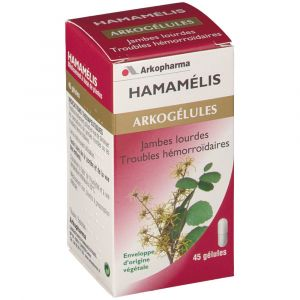 Arkopharma Arkogélules Hamamelis - 45 Gélules