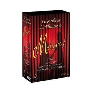 Coffret L'avare + Don Juan + Les Femmes savantes + Les fourberies de Scapin
