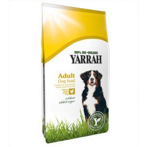 Yarrah Croquettes Bio au poulet pour chien 10 kg