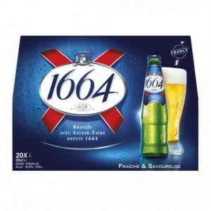 Kronenbourg 1664 - 20x25cl - 5.50 degré alcool