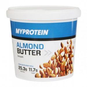 Myprotein Beurre d'amandes, Onctueux, Tub, 1 kg
