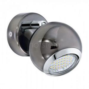 Eglo Spot simple LED orientable en métal finition canon de fusil diamètre 7cm Bowl