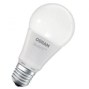 Osram 4058075816558 Smart+ -Ampoule Connectée LED Couleurs RGBW - Culot E27 - Equivalent 60W - Couleurs RGBW et du Blanc Chaud 2000K au Blanc Froid 6500K - Compatible Zigbee