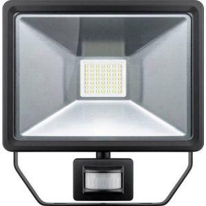 Goobay 44529 Projecteur LED extérieur avec détecteur de mouvements 50 W blanc lumière du jour
