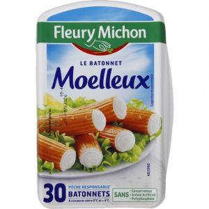 Fleury Michon Bâtons de surimi moelleux
