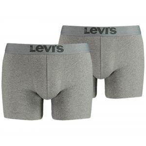 Levi's Vêtements intérieurs -- 200sf Boxer Brief 2 Pack - Middle Grey Melange - XL
