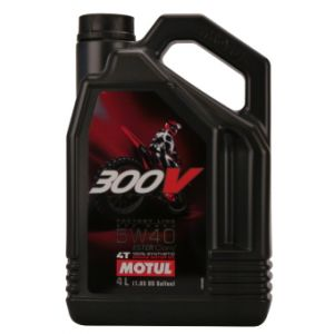 Motul 4T 300V Factory line Off Road 5W40 4L