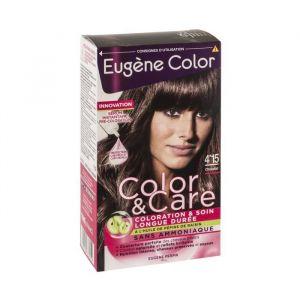 Eugène Color Coloration 4.15 Chocolat 6 ml - Lot de 2
