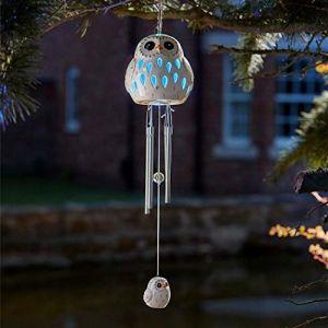 Smart Garden Carillon oiseau blanc