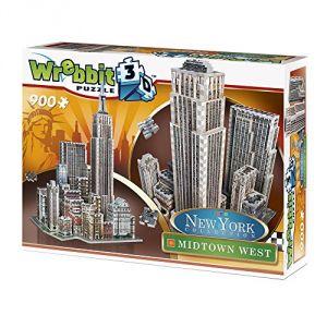 Wrebbit Midtown West 3D - Puzzle 900 pièces New York Collection