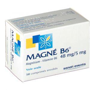 Sanofi Magné B6 - Magnésium 48 mg (50 comprimés)