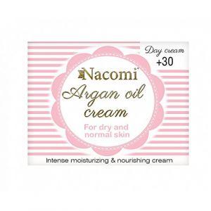 Nacomi Crème de jour à l'huile d'argan - 50 ml