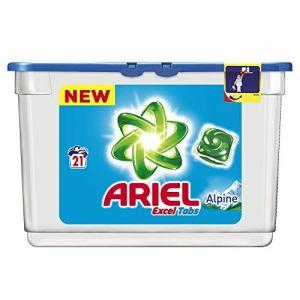 Ariel Lessive tablettes Excel Tabs Alpine 21 lavages