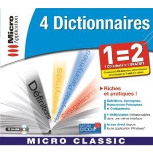 4 dictionnaires [Windows]