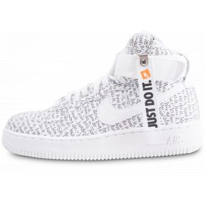 Nike Wmns Air Force 1 Hi LX White/ White-White-Black