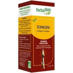 Herbalgem Tonigem bio - complexe tonique, 30 ml