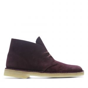 Clarks Originals Desert Boot chaussures bordeaux 42 EU