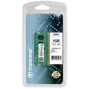 Transcend JM1333KSU-1G - Barrette mémoire JetRAM 1 Go DDR3 1333 MHz CL9 204 broches