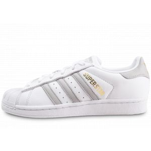 Adidas Chaussures SUPERSTAR W blanc - Taille 38,36 2/3,37 1/3