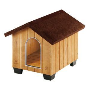 Ferplast Niche en bois pour chien Domus