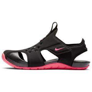Nike Sandales Sunray Protect 2 Enfant PS noir et rose