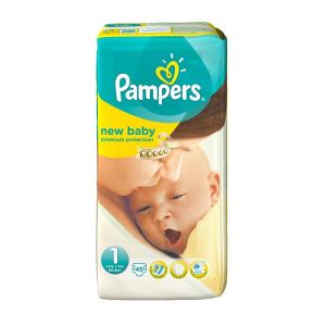 Pampers New Baby taille 1 (2-5 kg) - 45 couches