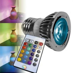Lumihome Ampoule LED E27 RGB + Télécommande
