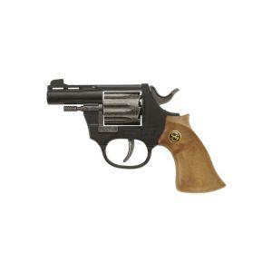 Schrödel Pistolet En Métal Et Plastique - Super 8 - 8 Coups : 14.5 Cm