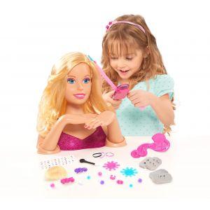 Giochi Preziosi Tête à coiffer : Barbie Deluxe Styling Head