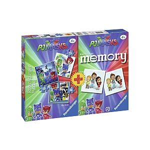 Ravensburger Pyjamasques 3 puzzles + memory