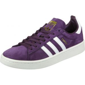 Adidas Campus W, Sneakers Basses Femme, Rouge (Red Night F17/Ftwr White/Chalk White), 38 2/3 EU