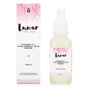 Lunar Sérum Visage Vitamine C + Acide Hyaluronique