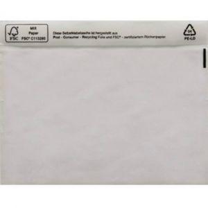 Poc tte pour doc ents DIN C5 transparent avec autocollant 1 paquet(s)