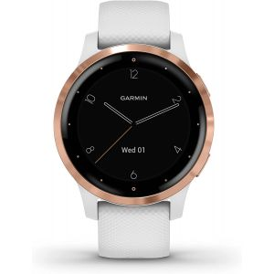 Garmin VIVOACTIVE 4S 40mm WHITE/ROSE GOLD - Montre sport GPS
