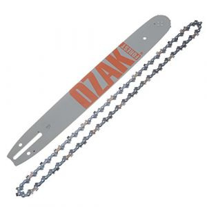 Jardiaffaires Guide chaîne Pro tronçonneuse 40cm 3/8 1,3mm 57E = Oregon 160spea041
