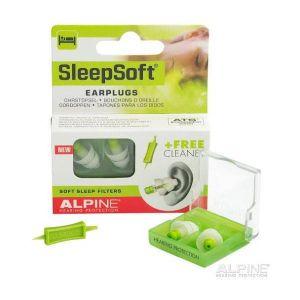 Alpine SleepSoft 2015 - Bouchons d'oreilles + Cleaner