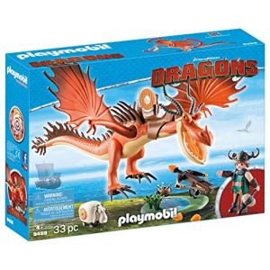 Playmobil 9459 Dragons - Rustik et Krochefer