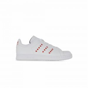 Adidas Stan Smith Enfant Blanche Et Rouge 35 Tennis
