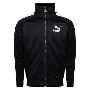 Puma Blouson de survêtement Iconic T7 Full Zip homme, Noir, Taille L, Vêtements