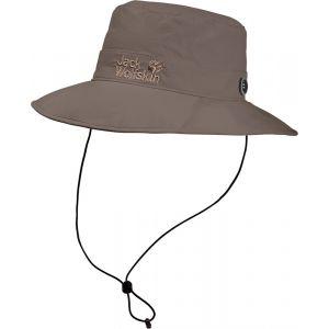 Jack Wolfskin Supplex Mesh Hat - Chapeau taille M, gris/brun