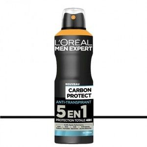 L'Oréal Men Expert Carbon Protect - Anti-transpirant spray 5 en 1 Ice Fresh