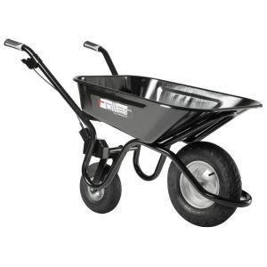 Haemmerlin 305580001 - Brouette avec 2ème roue escamotable Roller